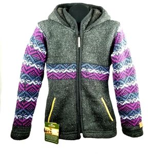 NWT Kyber Outerwear Corp 100% Wool Sz S